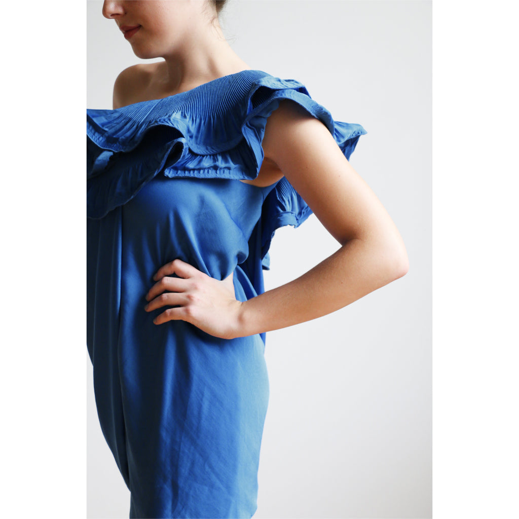 BCBG | Ruffle Drape Dress
