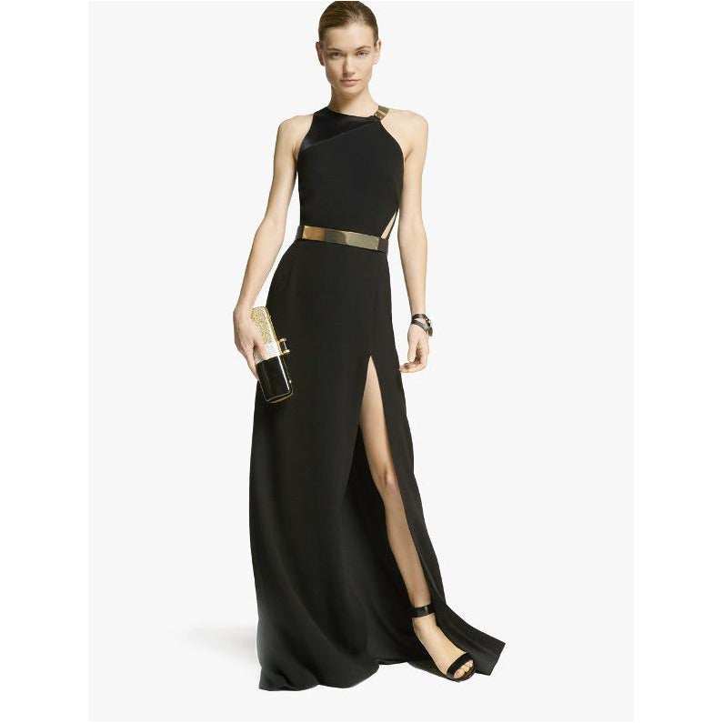 Halston Heritage | Metal Plate Gown - Fresh Fashion Library