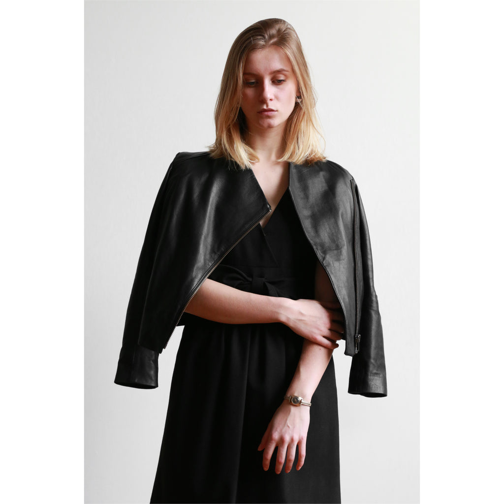 Helmut Lang | Leather Jacket - Fresh Fashion Library