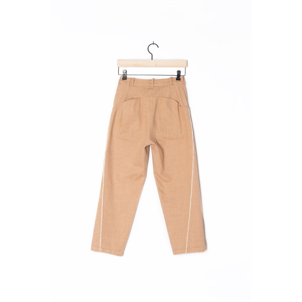 PEGGY SUE COLLECTION |  Brown Selvedge Trousers