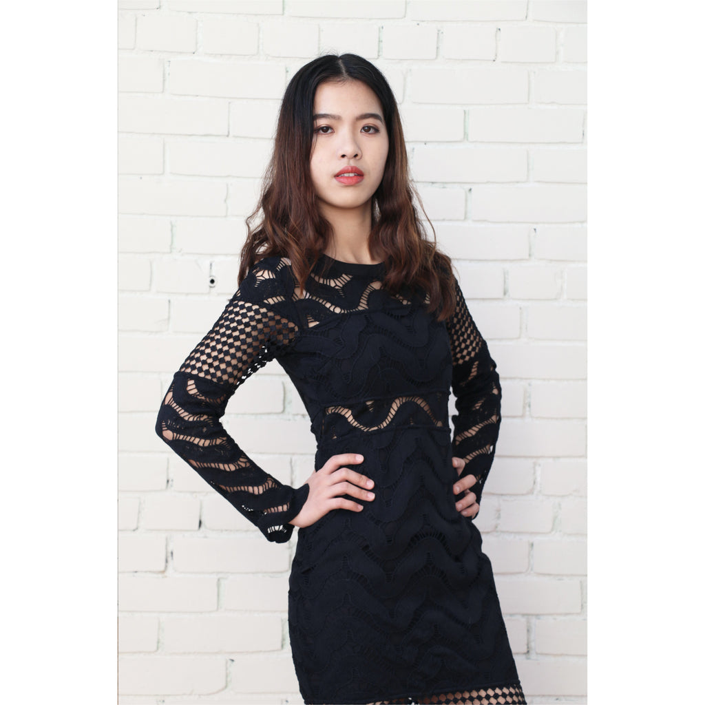 PREM | State of Grace Dress - Black