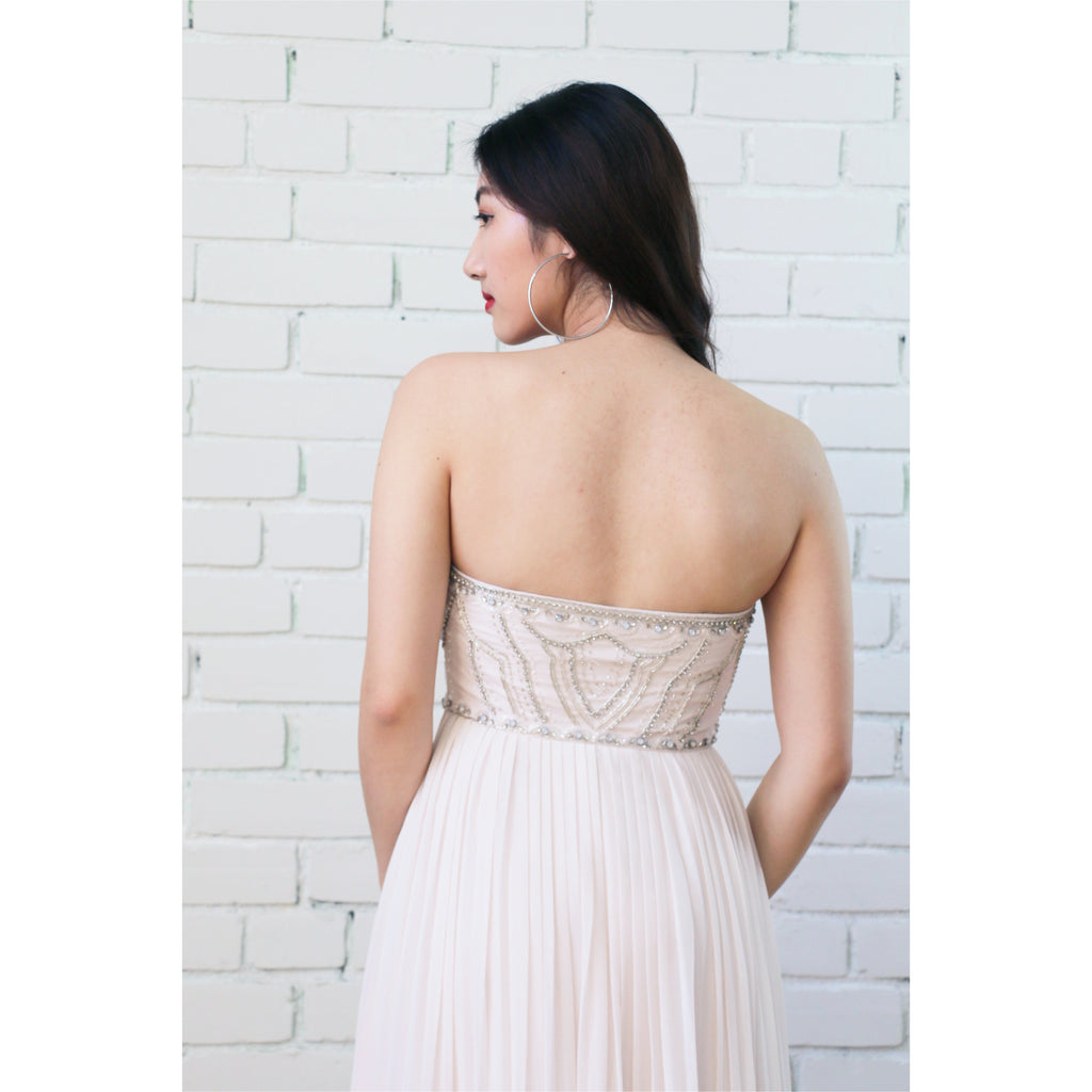 Ever New | Strapless Goddess Gown