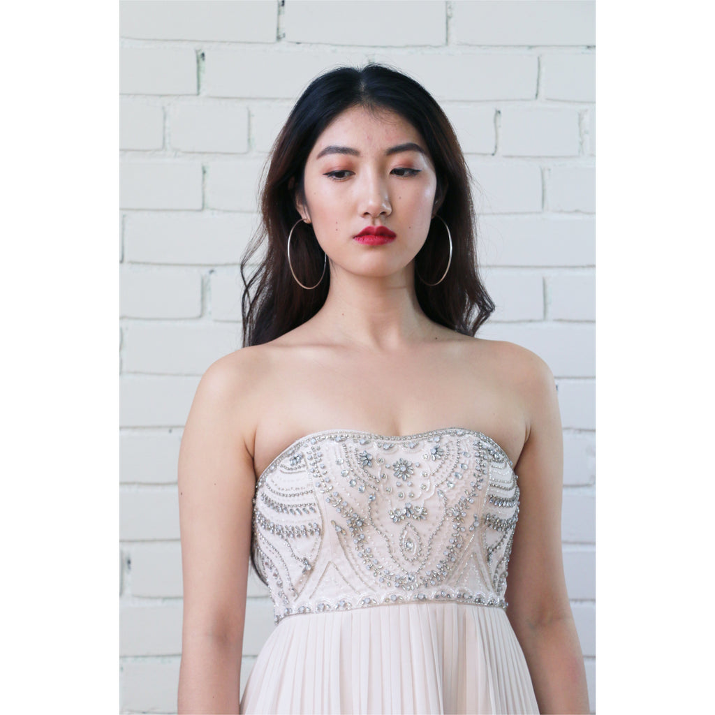 Ever New | Strapless Goddess Gown - Fresh Fashion Library