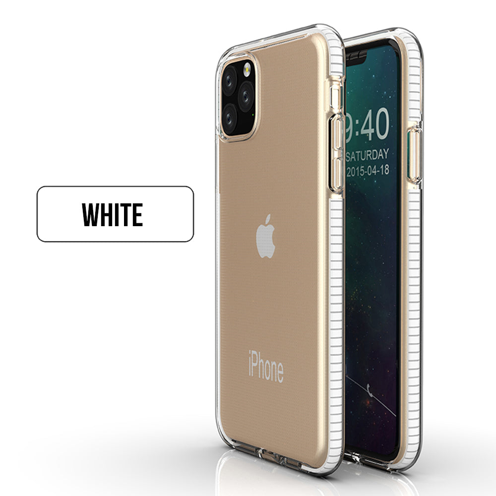 Anti Drop Shockproof Clear Soft TPU Bumper Slim Cover