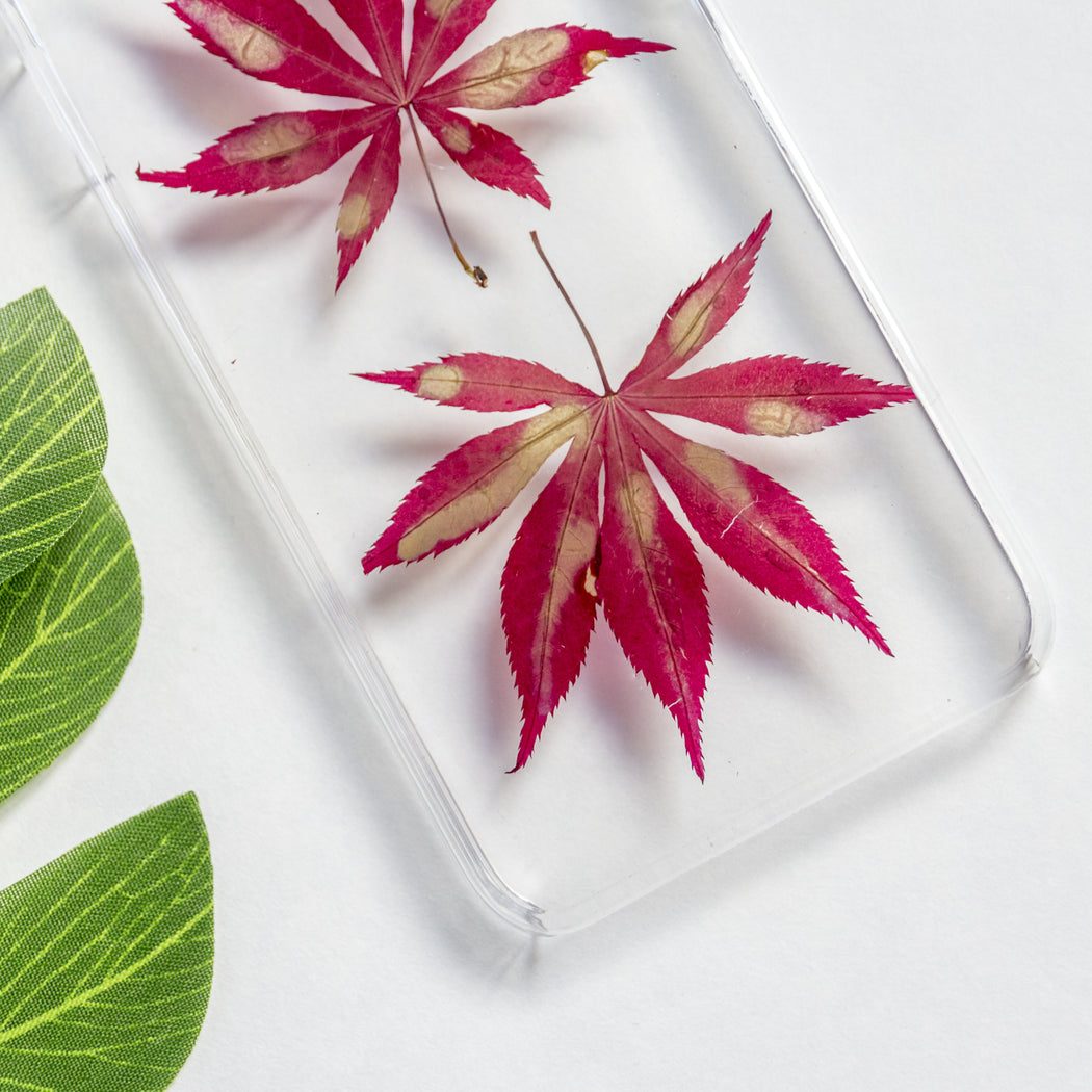 Autumn | Pressed Flower iPhone Case | iPhone 7/8