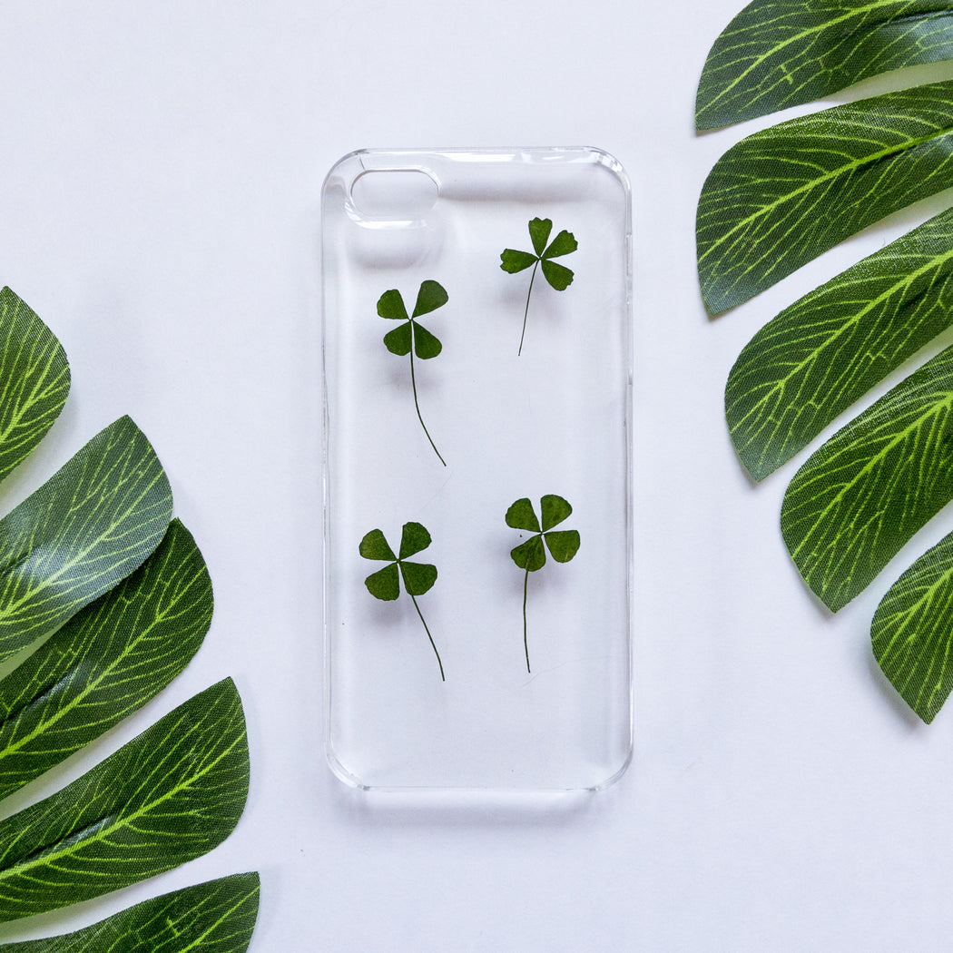 Best Wishes | Pressed Flower iPhone Case | iPhone 5/5s/SE