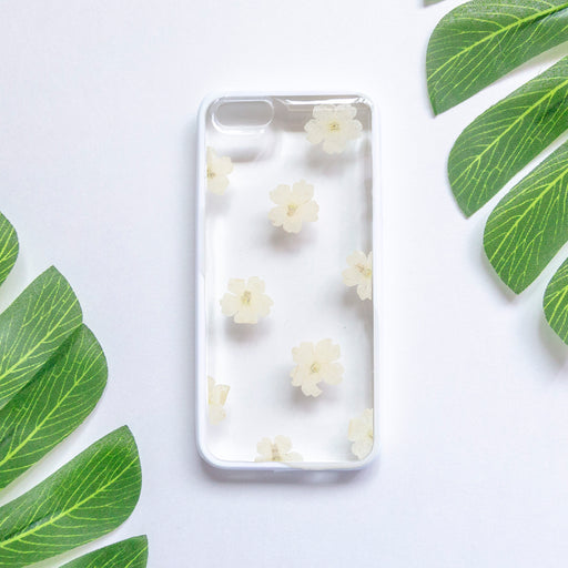 Bianca | Pressed Flower iPhone Bumper Case | iPhone 5/5s/SE