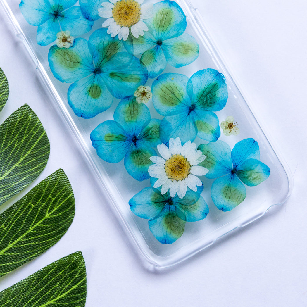 Blue Ruby | Pressed Flower iPhone Case | iPhone 6/6s