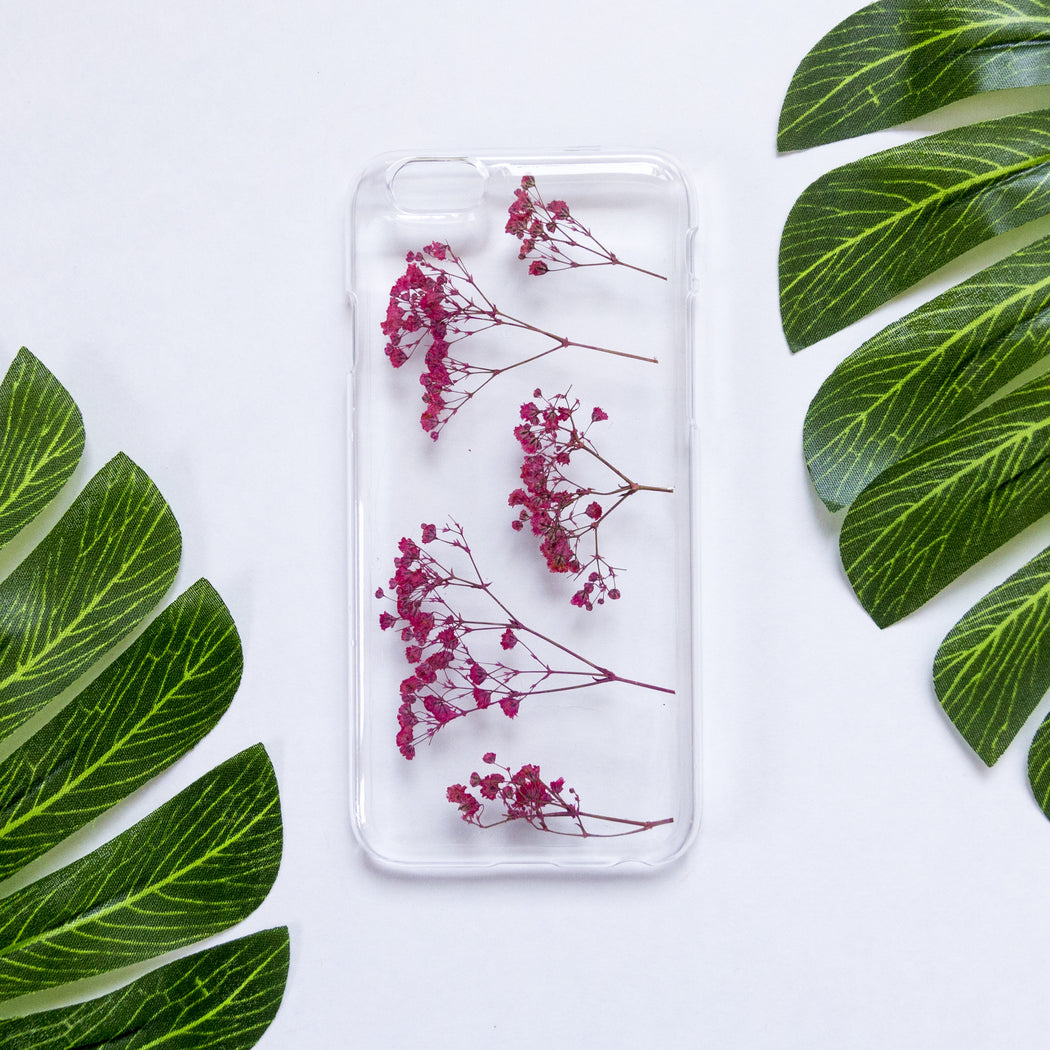 Blush | Pressed Flower iPhone Case | iPhone 6/6s