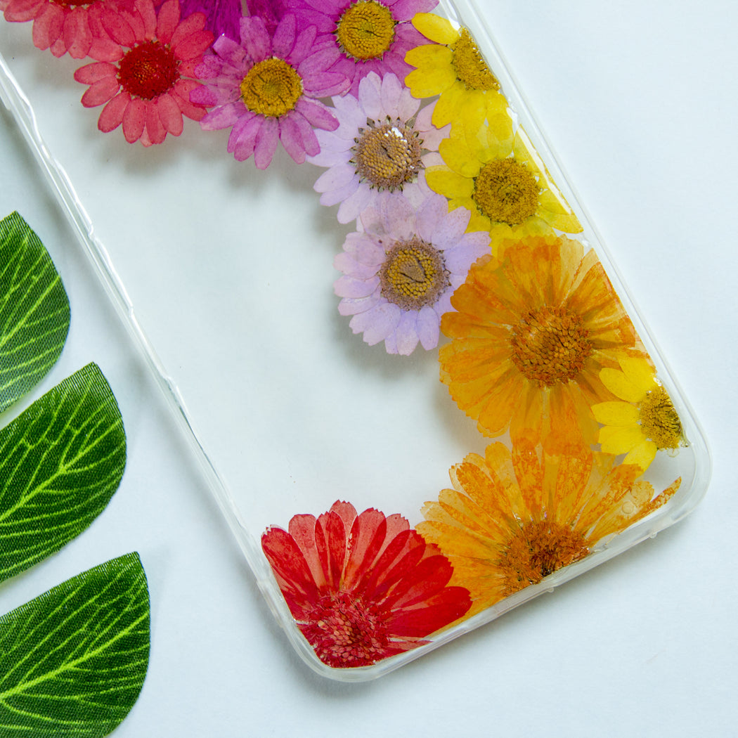 Daisy Party | Pressed Flower iPhone Bumper Case | iPhone 6/6s Plus