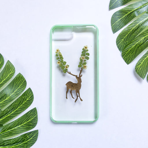 Dear Deer | Pressed Flower iPhone Bumper Case | iPhone 7/8 Plus