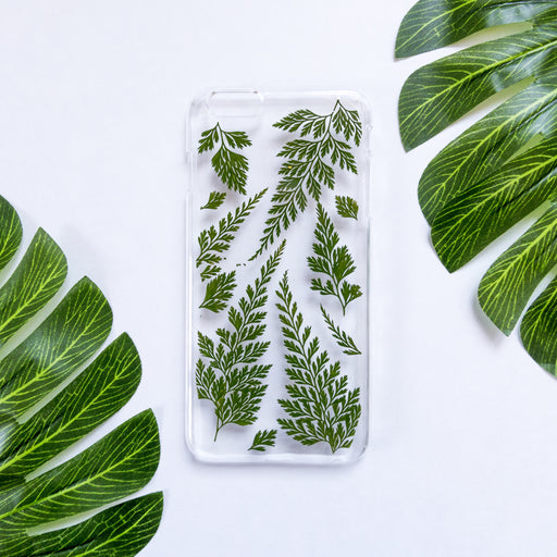 Evergreen Dream | Pressed Flower iPhone Case | iPhone 6/6s Plus
