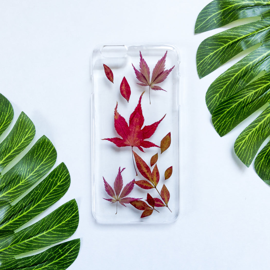 Flame | Pressed Flower iPhone Case | iPhone 6/6s Plus