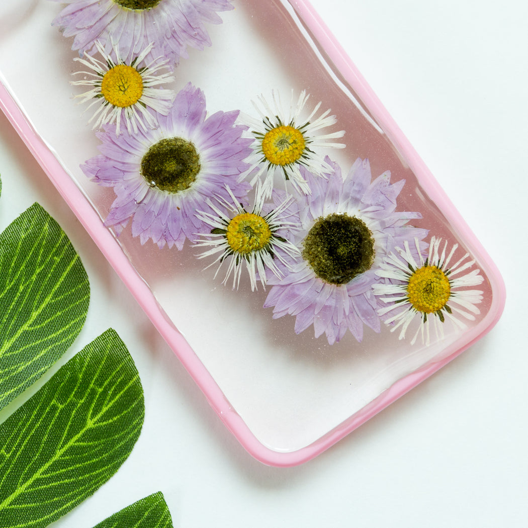 Float On | Pressed Flower iPhone Bumper Case | iPhone 5/5s/SE