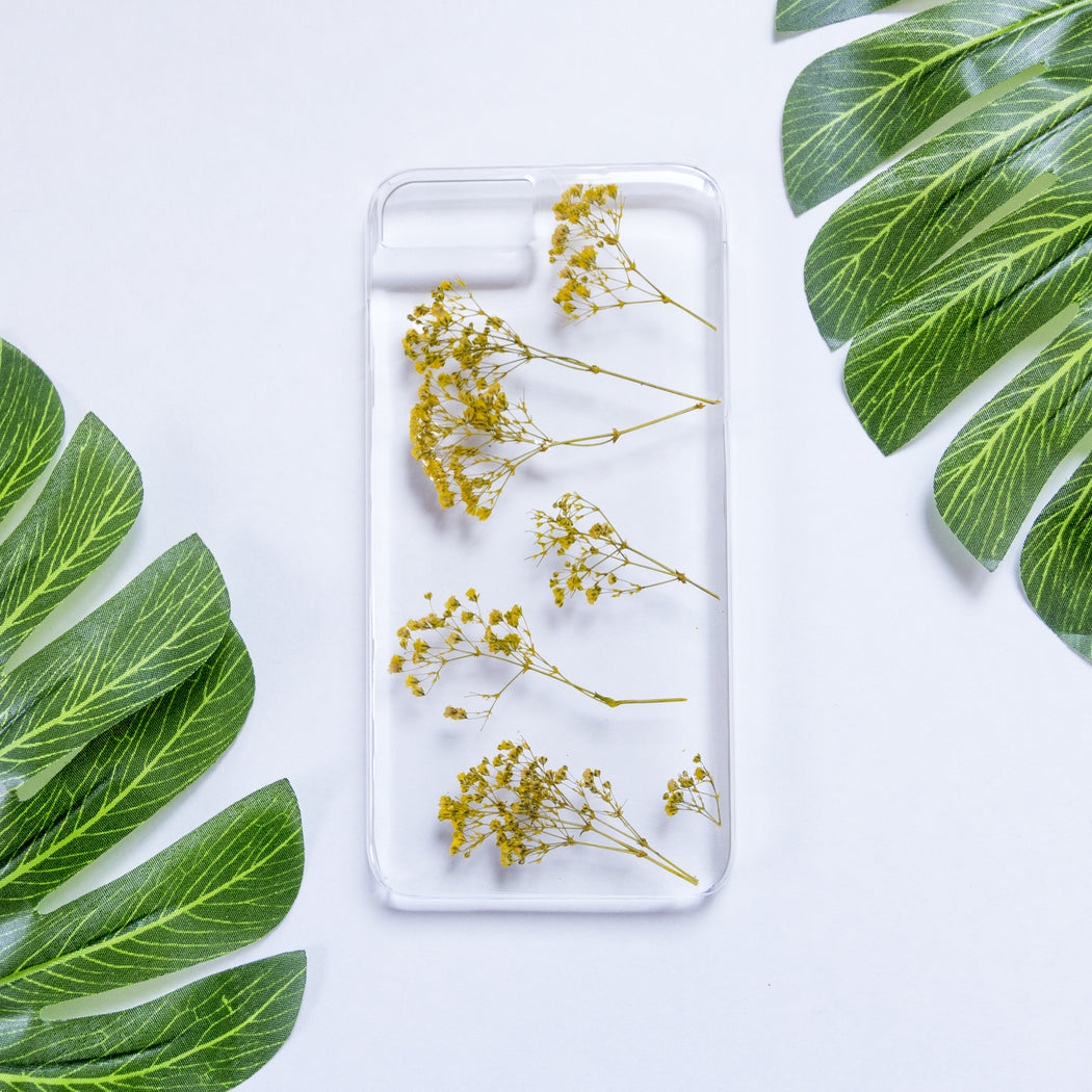 Happiness | Pressed Flower iPhone Case | iPhone 7/8 Plus