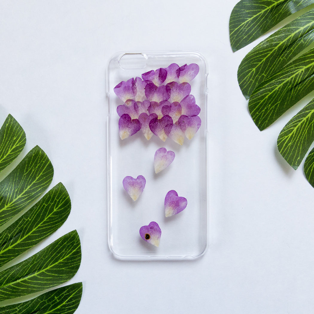 Heart Rain | Pressed Flower iPhone Case | iPhone 6/6s