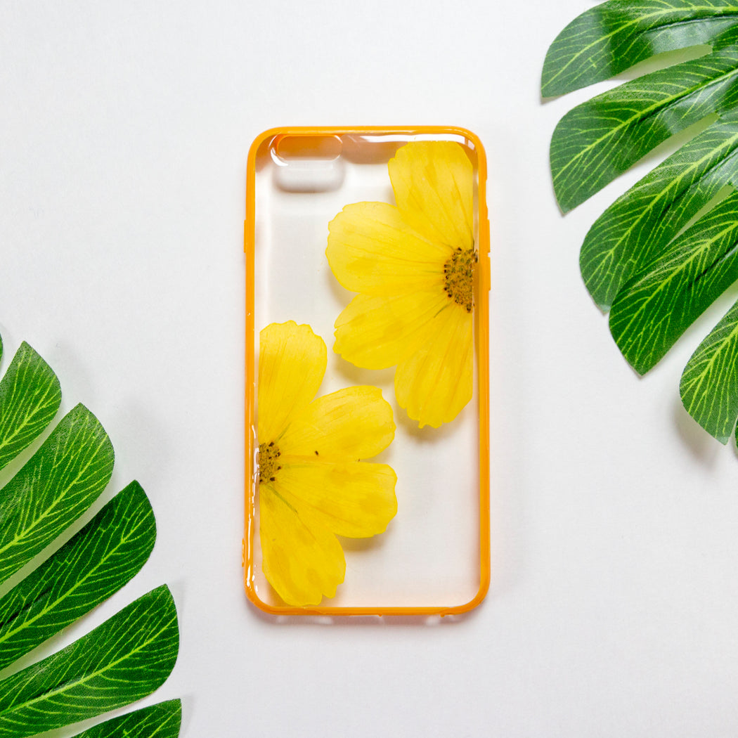 Honey | Pressed Flower iPhone Bumper Case | iPhone 6/6s Plus