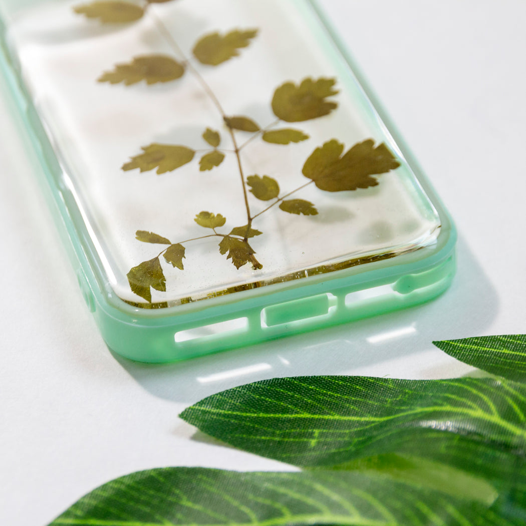 Loden | Pressed Flower iPhone Bumper Case | iPhone 5/5s/SE
