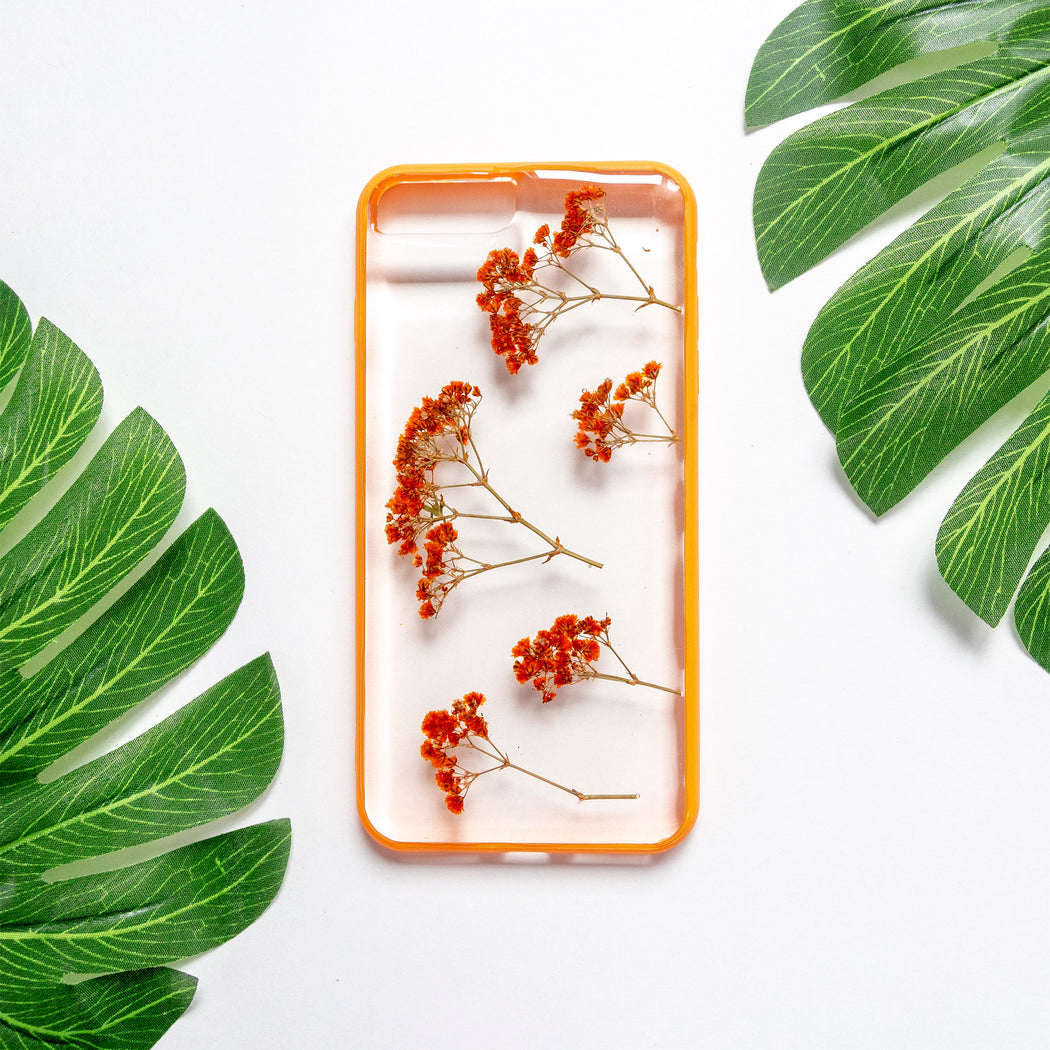 Mellyn | Pressed Flower iPhone Bumper Case | iPhone 7/8 Plus