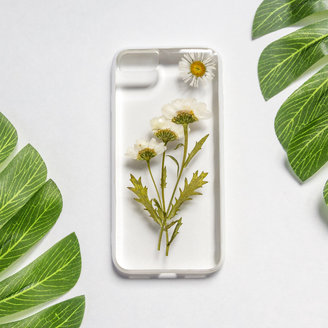 Morning | Pressed Flower iPhone Bumper Case | iPhone 7/8