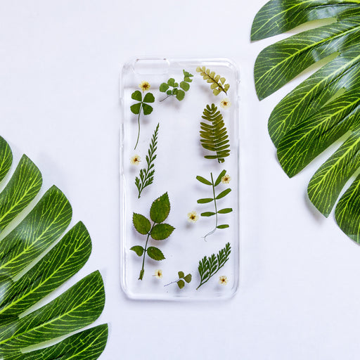 Olive Garden | Pressed Flower iPhone Case | iPhone 6/6s Plus