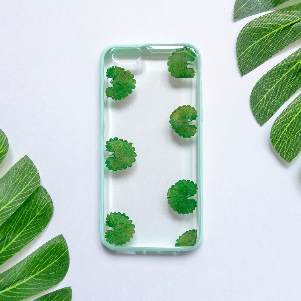 Olive Tree | Pressed Flower iPhone Bumper Case | iPhone 6/6s