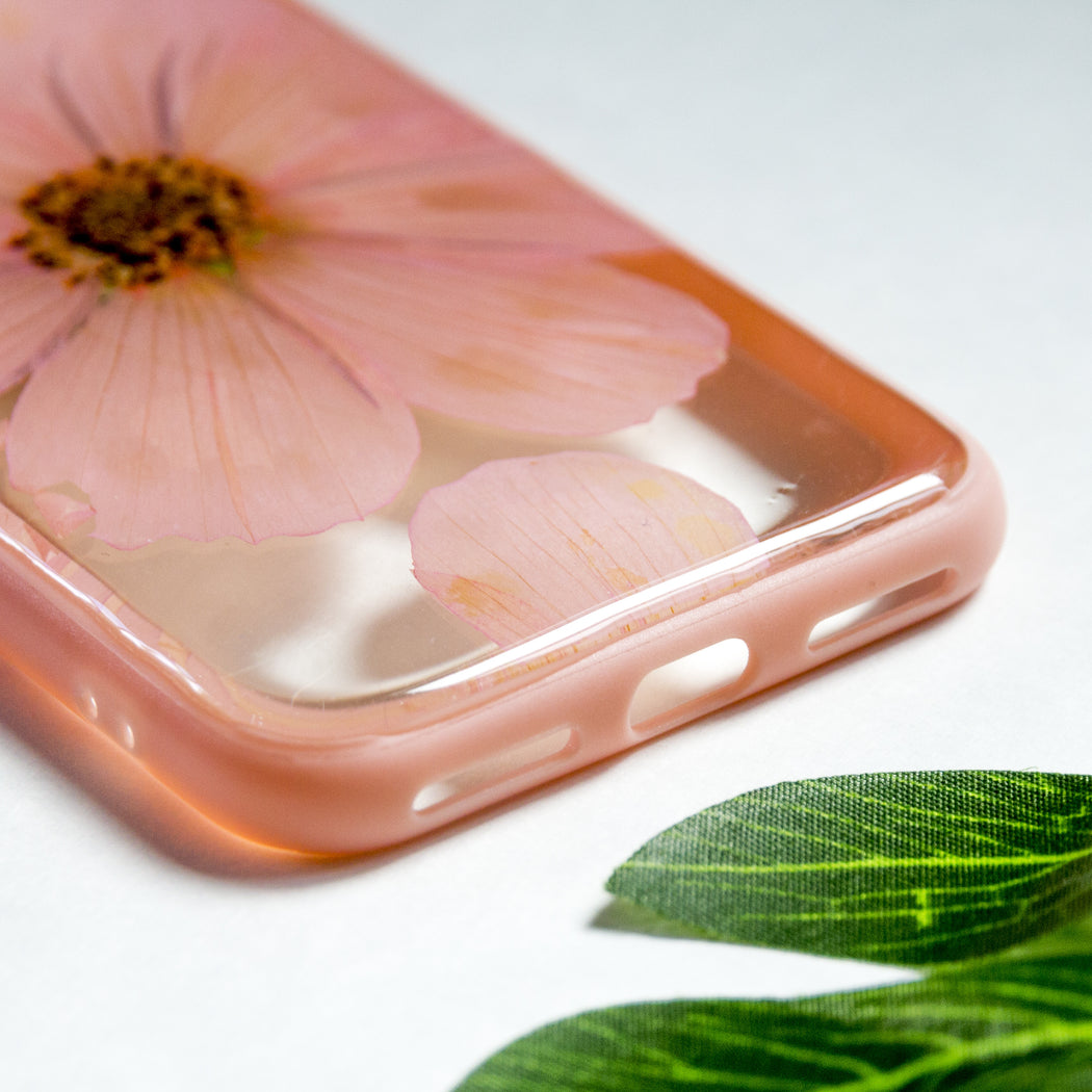 Everything is Pink | Pressed Flower iPhone Bumper Case | iPhone 7/8