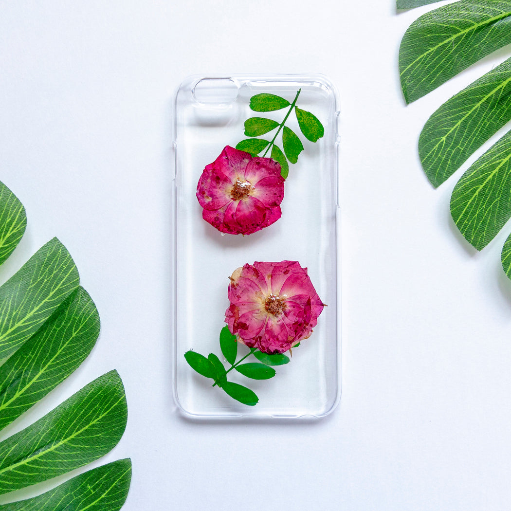 Rosa | Pressed Flower iPhone Case | iPhone 6/6s