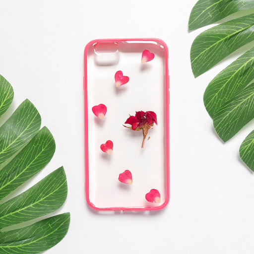 Rosabella | Pressed Flower iPhone Bumper Case | iPhone 6/6s