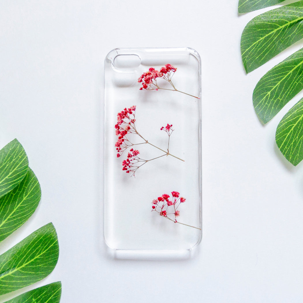Ruby | Pressed Flower iPhone Case | iPhone 5/5s/SE