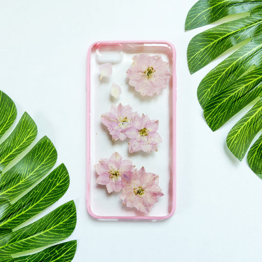 Sakura | Pressed Flower iPhone Bumper Case | iPhone 6/6s Plus
