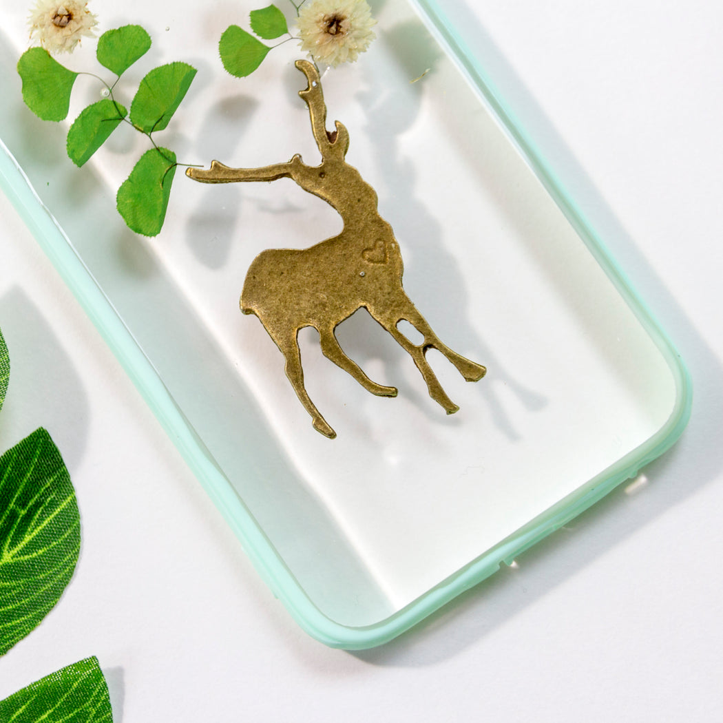 Secret Forest | Pressed Flower iPhone Bumper Case | iPhone 6/6s