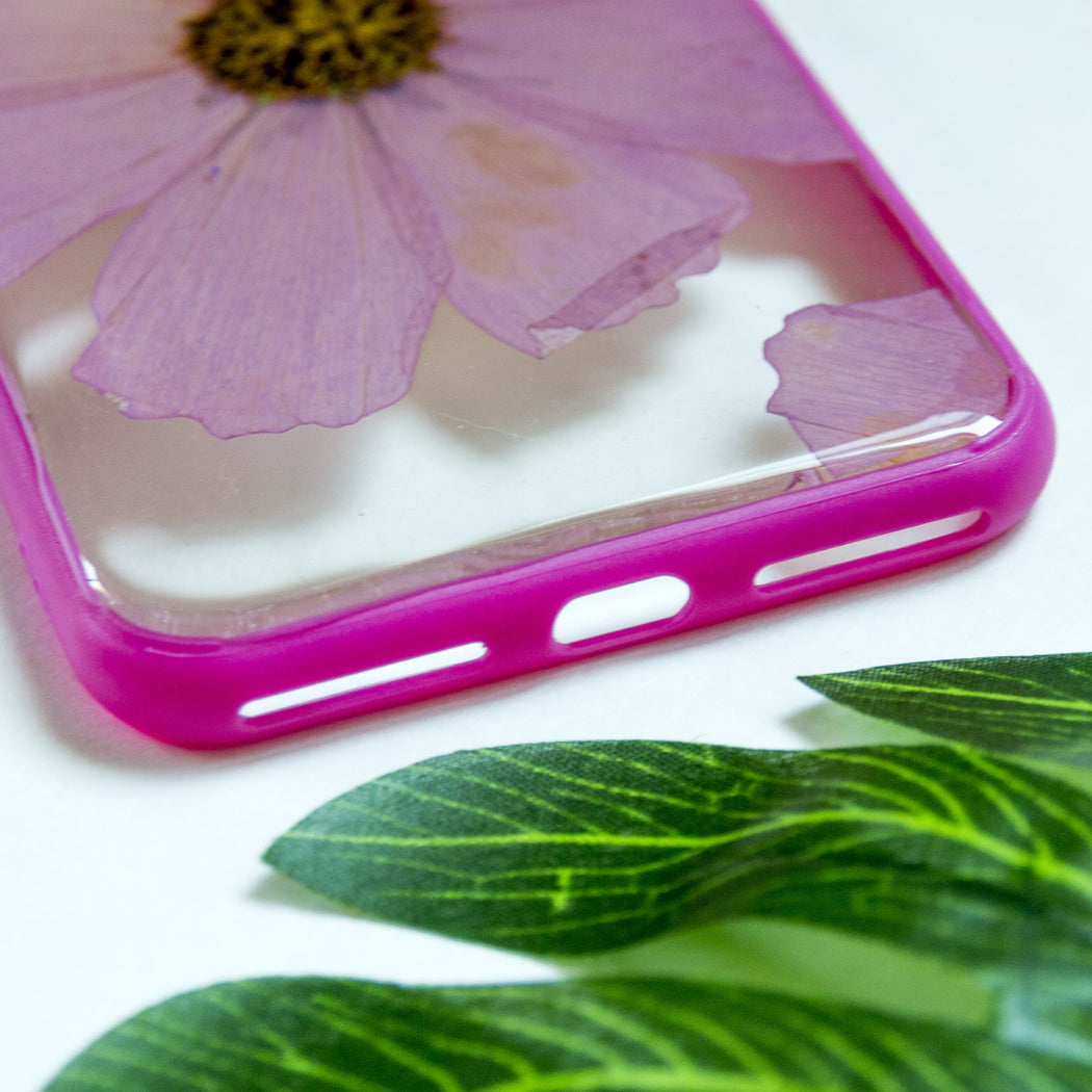 Simplicity | Pressed Flower iPhone Bumper Case | iPhone 7/8 Plus