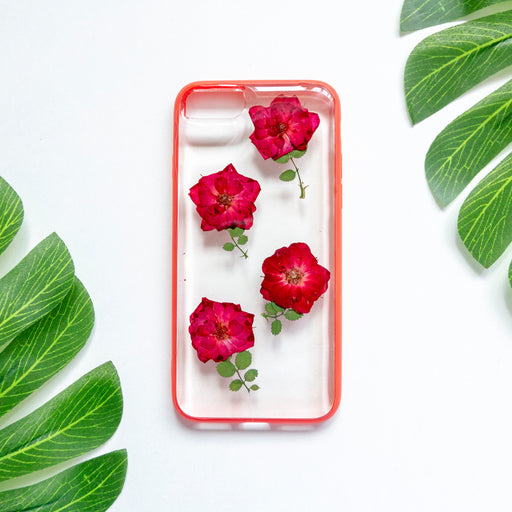 Sweet Roses | Pressed Flower iPhone Bumper Case
