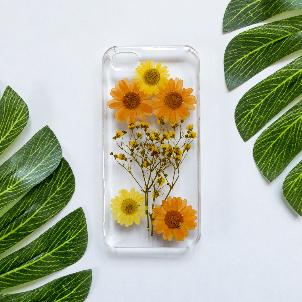 Tangerine Tree | Pressed Flower iPhone Case | iPhone 5/5s/SE