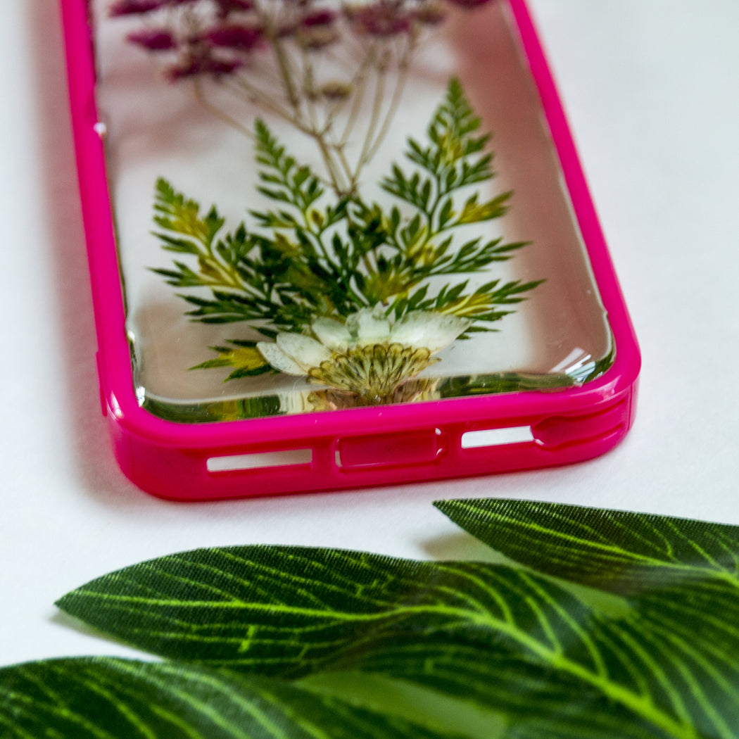 Tree of Life | Pressed Flower iPhone Bumper Case | iPhone 5/5s/SE