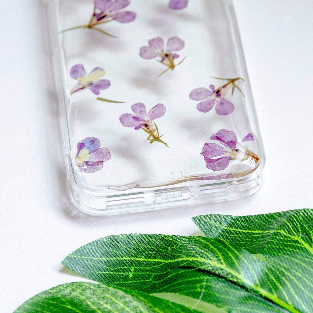 Ube | Pressed Flower iPhone Bumper Case | iPhone 5/5s/SE