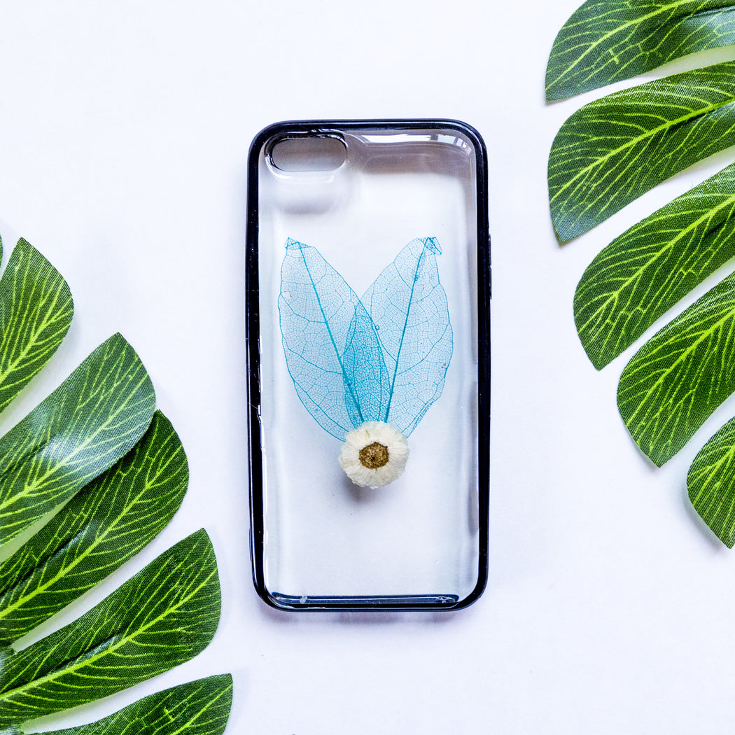Wings | Pressed Flower iPhone Bumper Case | iPhone 5/5s/SE
