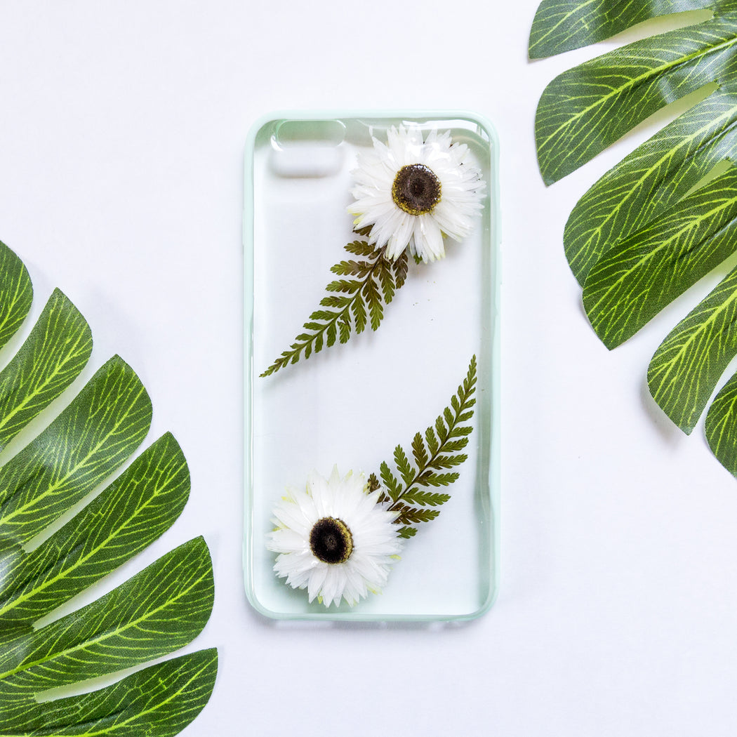 Winter Tale | Pressed Flower iPhone Bumper Case | iPhone 6/6s Plus