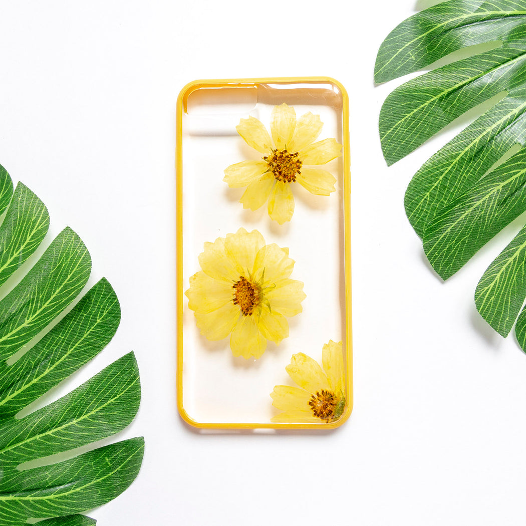 Xanthe | Pressed Flower iPhone Bumper Case | iPhone 7/8 Plus