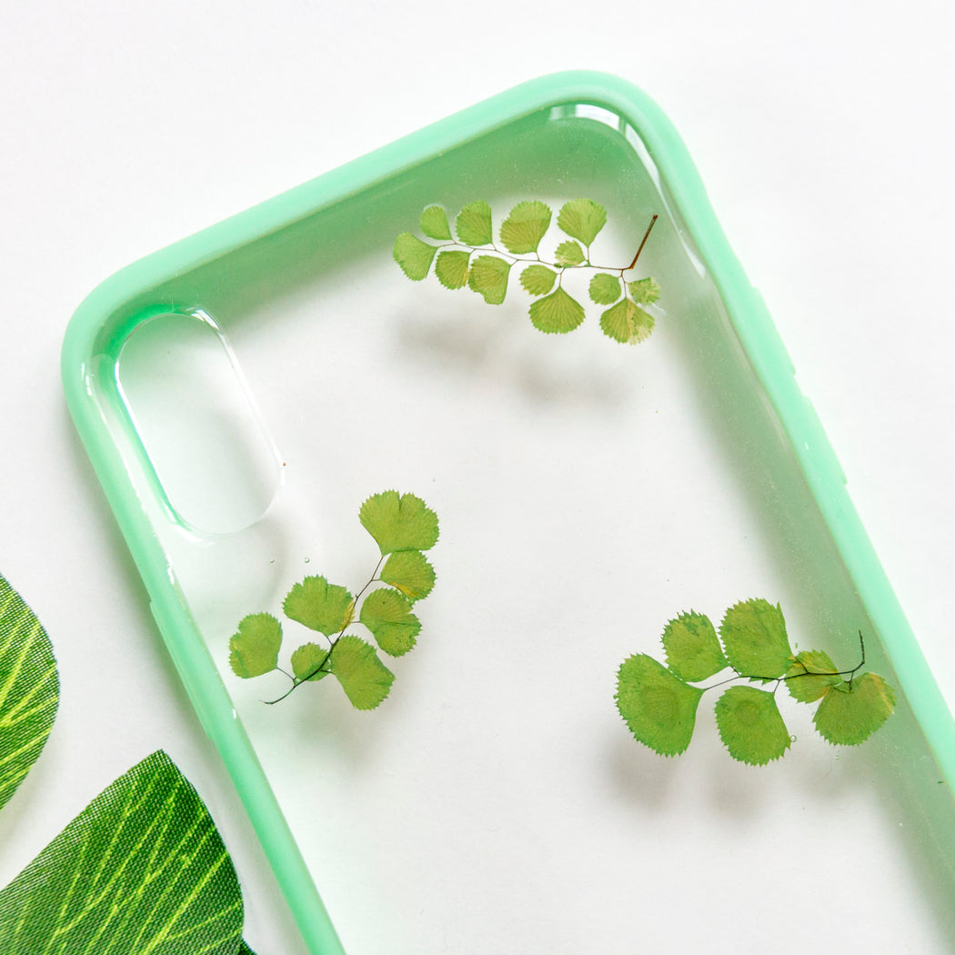Olive | Pressed Flower iPhone Case | iPhone X