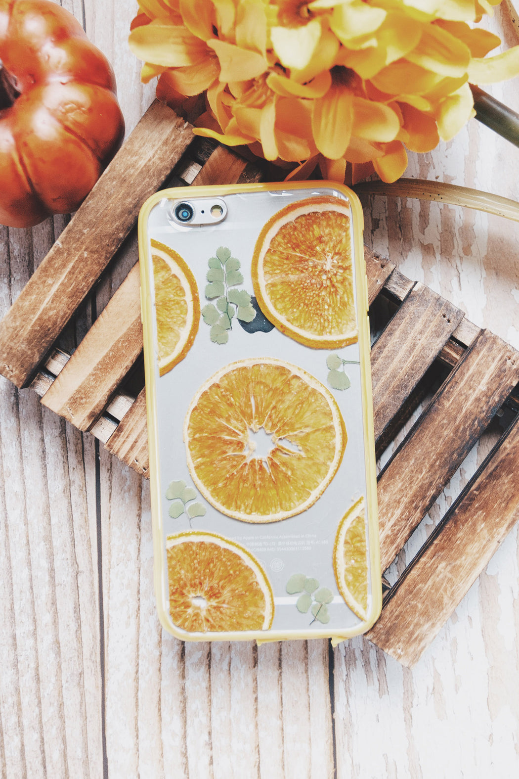 orange_garden_real_pressed_fruit_flower_floral_cute_protective_anti_drop_iPhone_6_6s_bumper_case_floral_neverland_floralfy