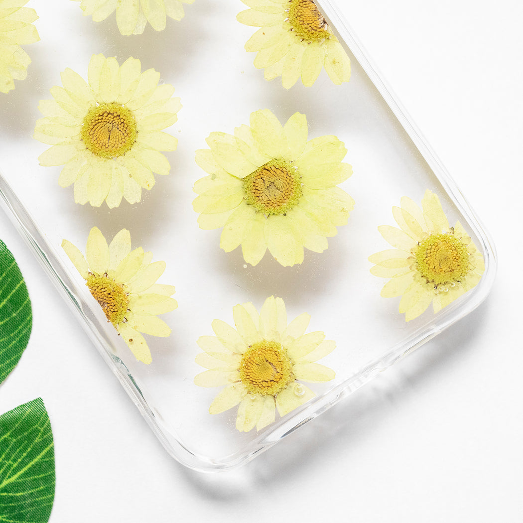 Chartreuse | Pressed Flower iPhone Bumper Case | iPhone 11 Pro Max