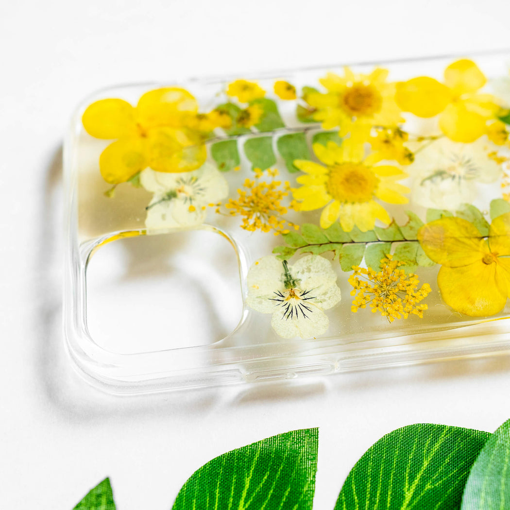 Blaine | Pressed Flower iPhone Bumper Case | iPhone 11