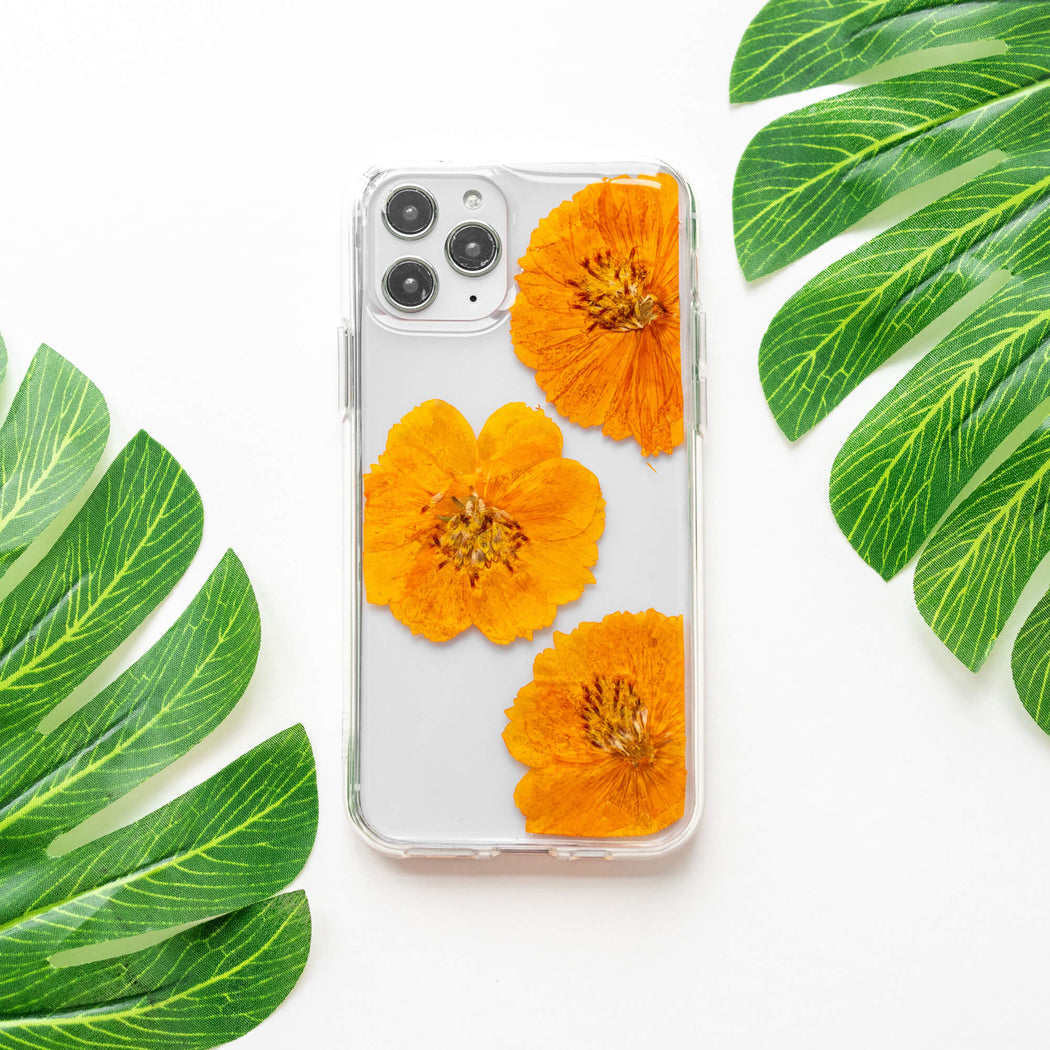 Mellyn | Pressed Flower iPhone Bumper Case | iPhone 11 Pro