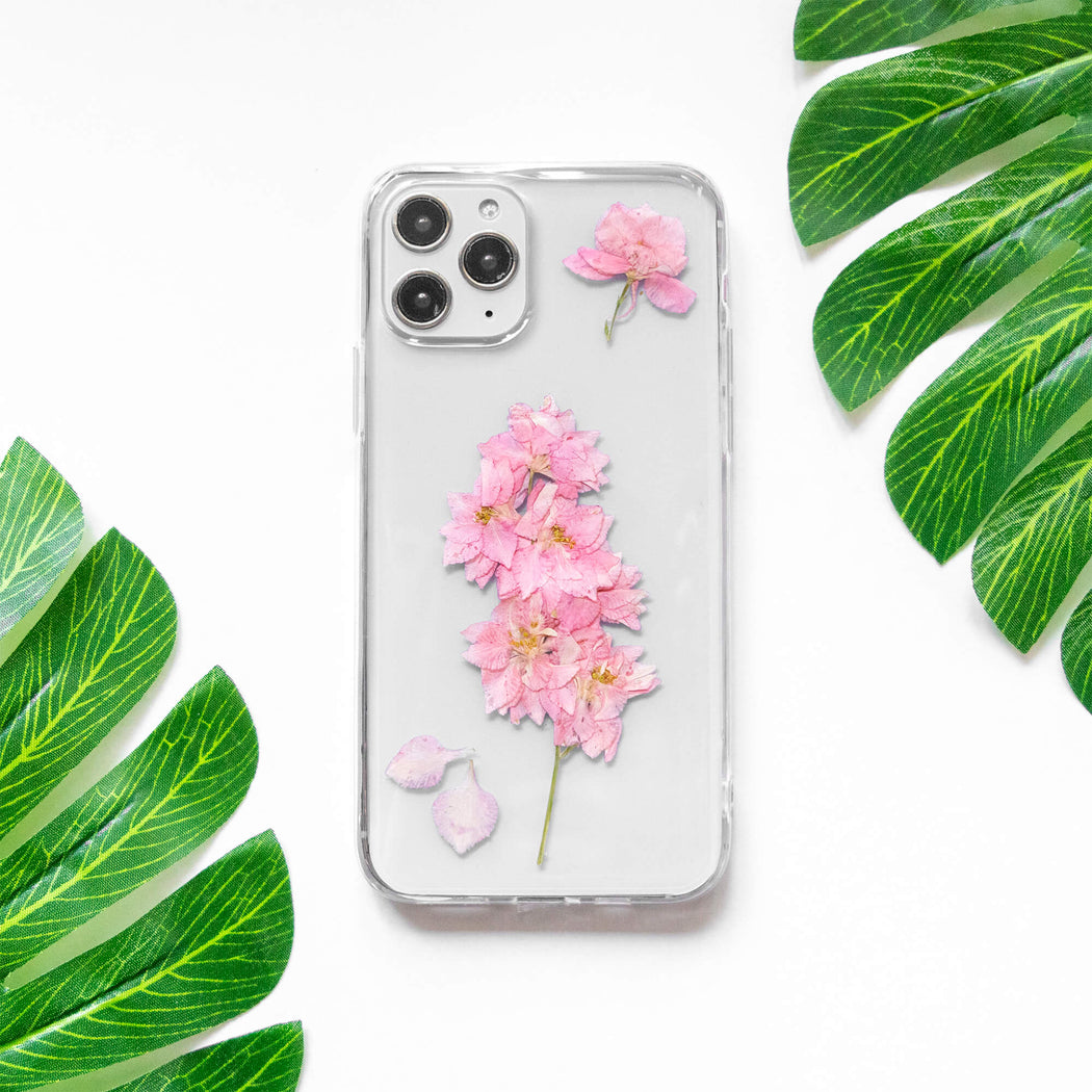 Sakura | Pressed Flower iPhone Bumper Case | iPhone 11 Pro