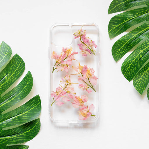 Caroline | Pressed Flower iPhone Bumper Case | iPhone 11 Pro