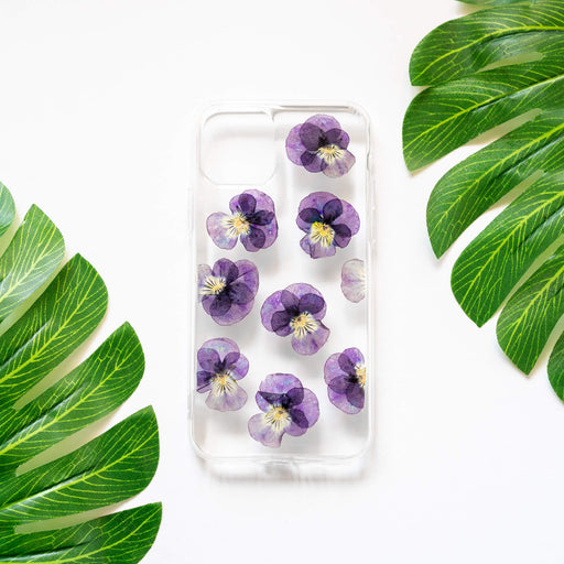 Pansy | Pressed Flower iPhone Bumper Case | iPhone 11 Pro