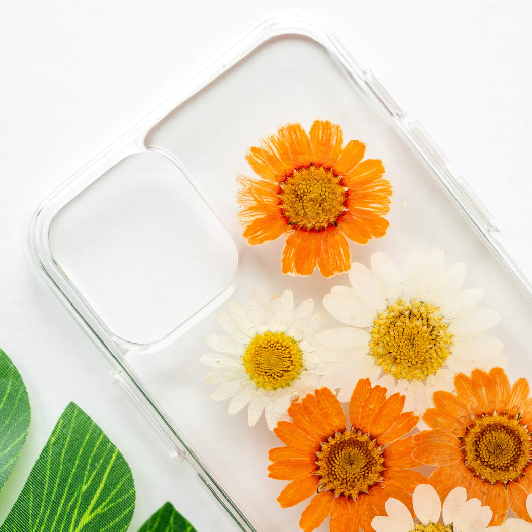 Sunny | Pressed Flower iPhone Bumper Case | iPhone 11 Pro