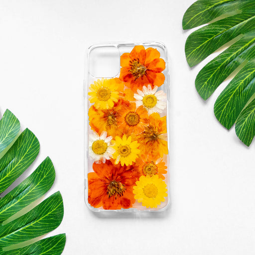 Sienna | Pressed Flower iPhone Bumper Case | iPhone 11 Pro Max